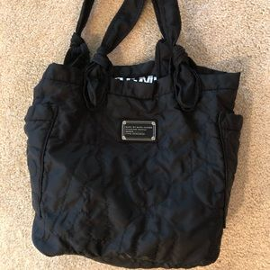 Marc Jacobs quilted nylon bag.